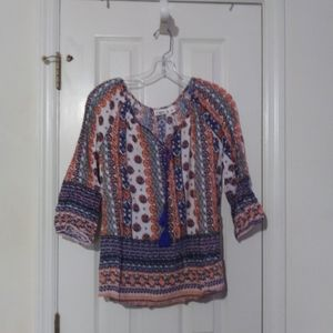 Cato Indian print blouse in excellent condition